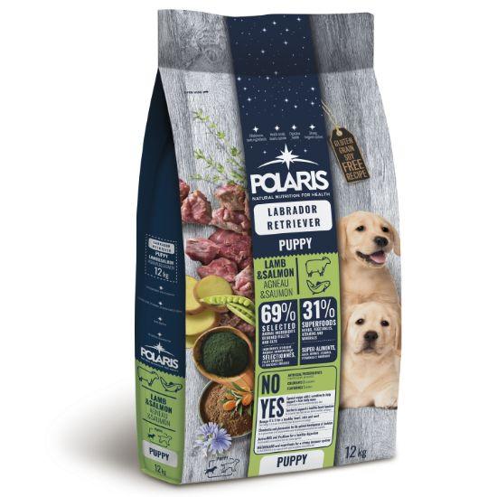 Obrázek z Polaris Dog Puppy Labrador jehně & losos 12 kg