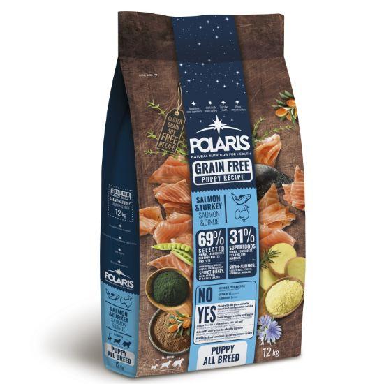 Obrázek z Polaris Dog Puppy All losos & krůta GF 12 kg