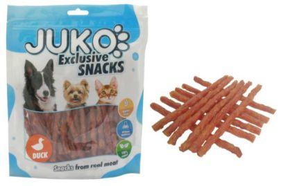 Obrázek JUKO SNACKS Duck & Sweet Potato stick 250 g