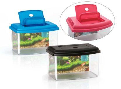 Obrázek Aquarium 2 plastové-5,5lt-š.28xv20xh17cm-10636