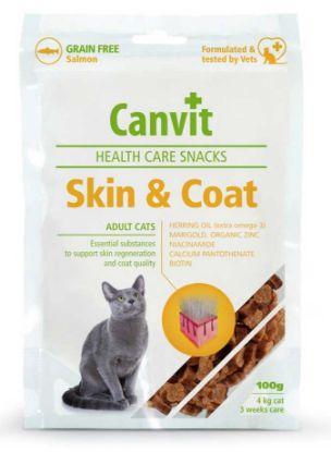 Obrázek Canvit SNACKS Cat Skin & Coat 100 g
