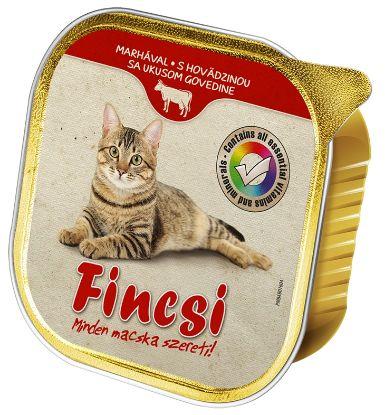Obrázek Fincsi Cat vanička Beef 100g-15386