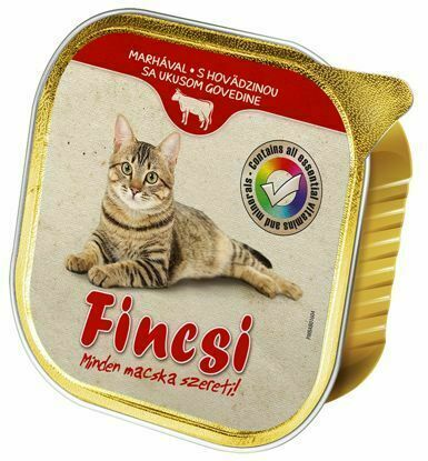 Obrázek Fincsi Cat hovězí vanička 100 g