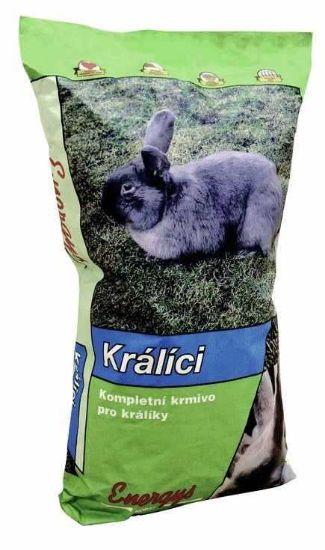 Obrázek z Energys Klasik králík (bez kokc,výkrm) 25 kg