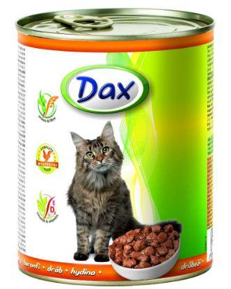 Obrázek DAX  kousky CAT 830g DRŮBEŽÍ-10705