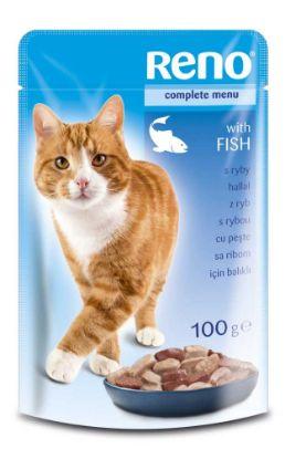 Obrázek RENO Cat rybí, kapsa 100 g