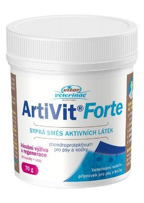 Obrázek Vitar veterinae Artivit Forte-prášek  70g-12304