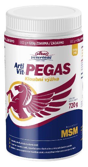 Obrázek z Vitar veterinae ARTIVIT PEGAS MSM 600g+120g ZDARMA-14843