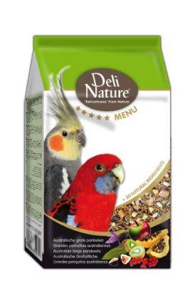 Obrázek Deli Nature 5 Menu AUSTRALIAN PARAKEETS 800g-Australský Papoušek-12974