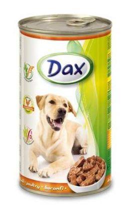 Obrázek Dax Dog kousky drůbeží 1240 g