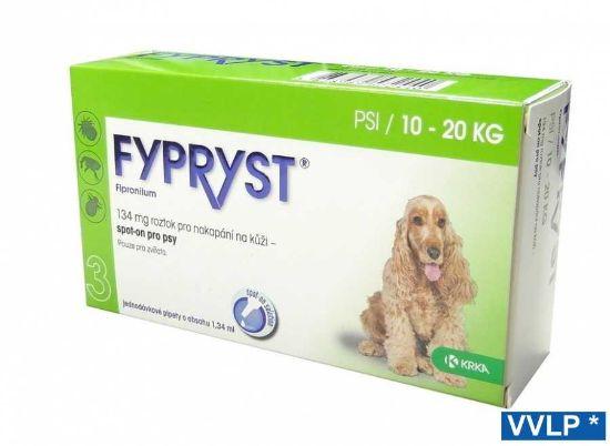 Obrázek z Fypryst spot-on pes M 10-20 kg