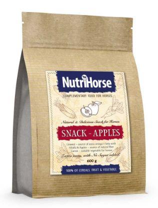 Obrázek NutriHorse Snack - Apple 600g-pochoutka pro koně-14057