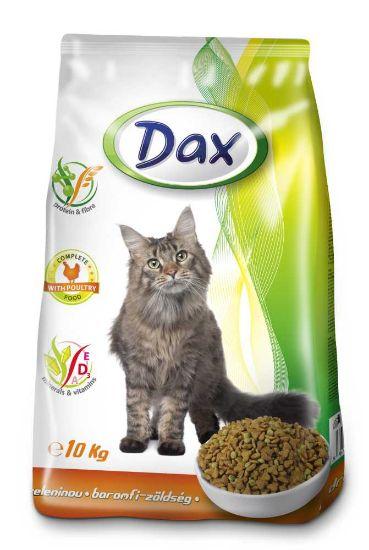 Obrázek z Dax Cat granule drůbeží se zeleninou 10 kg