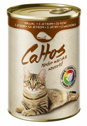 Obrázek Cattos Cat with Liver 415g-15381