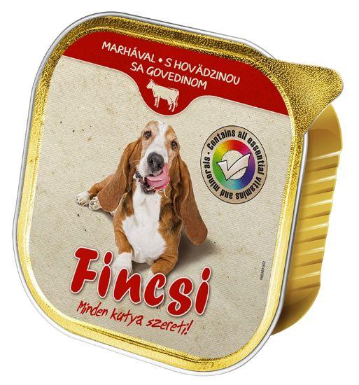 Obrázek z Fincsi Dog vanička Beef 300g-15384