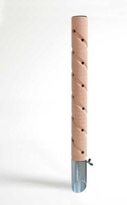 Obrázek Psí pisoár dřevěný•design 3 VELKÝ,pozin trn-v.60cm-12455