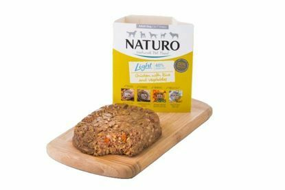Obrázek Naturo Dog Light Chicken & Rice with Vegetables  400 g