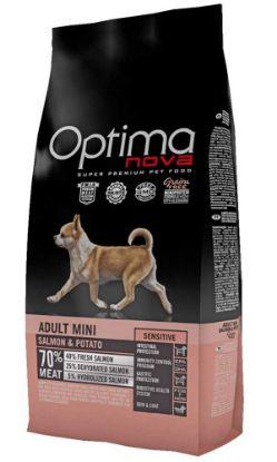Obrázek OPTIMAnova Dog Adult Mini Sensitive Salmon & Potato GF 8 kg