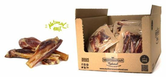 Serrano Mini Ham Bones 3ks cca 90g - šunkové kosti mini