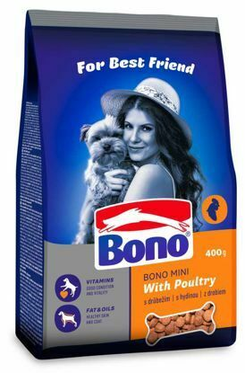 Obrázek Bono Adult Mini Drůbeží 400 g