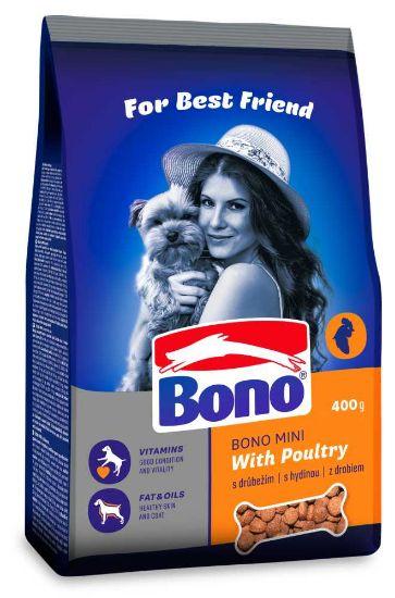 Obrázek z Bono Adult Mini Drůbeží 400 g
