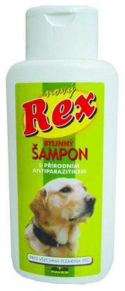 Obrázek REX šampon pro psy bylinný 250ml-ZELENÝ -1648
