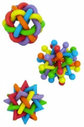 Obrázek Gumový splétaný míč Rubber