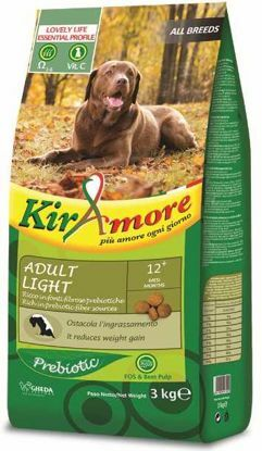 Obrázek Kiramore Dog all breeds Adult Light 3kg-12341