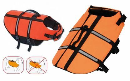 Obrázek Záchranná/plovací vesta pes XL 45 cm