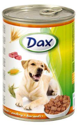 Obrázek Dax Dog kousky drůbeží 415 g
