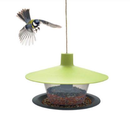 Obrázek Krmítko Finch-Talíř venkovní plast-zelená-14001
