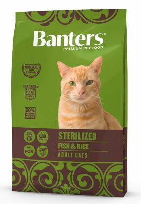 Obrázek Banters Adult cat STERILIZED Fish with Rice  2kg-14667