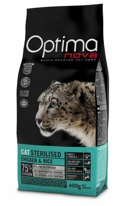 Obrázek OPTIMAnova CAT STERILISED   400g-9505