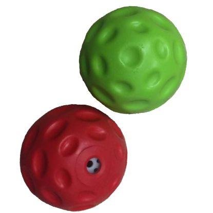 Obrázek Plovací míček se zvukem z termoplastické gumy 7cm-15409