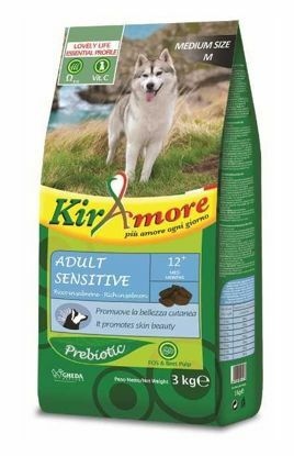Obrázek Kiramore Dog medium Adult Sensitive 15kg-12334