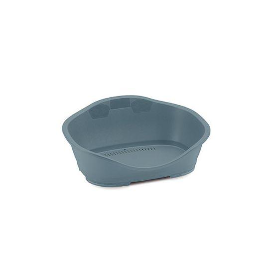 Obrázek z Pelíšek plast 1 modro-šedá 56,5x42x24,2