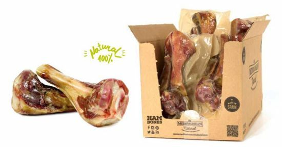 Obrázek z Serrano half Ham Bone 2ks cca 370g Poloviční šunková kost-14212