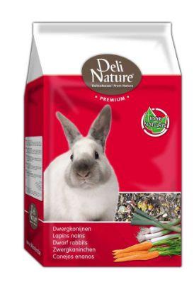 Obrázek Deli Nature Premium DWARF RABBITS 3kg-Zakrslý Králík-12988