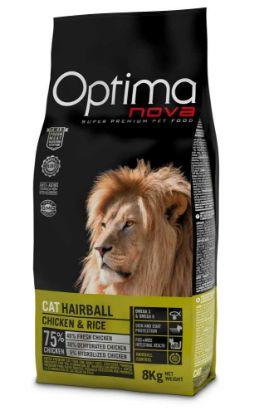 Obrázek OPTIMAnova Cat Hairball 8 kg