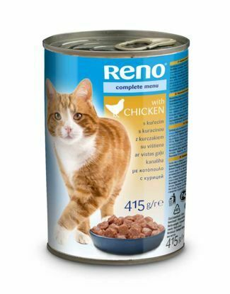 Obrázek RENO kousky CAT KUŘE 415g-9192
