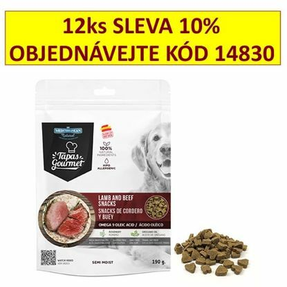 Obrázek Tapas Gourmet Snack for dog Lamb and Beef 190g-14817