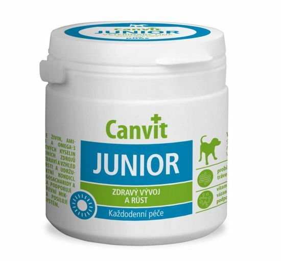 Obrázek z Canvit JUNIOR pes ochucený 230 g