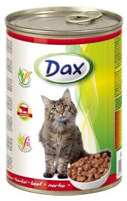 Obrázek DAX  kousky CAT HOVĚZÍ  415g-10023