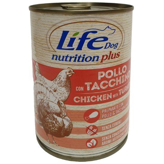 Obrázek z LifeDog Chicken and Turkey 400 g