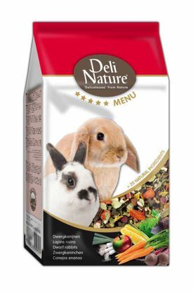 Obrázek Deli Nature 5 Menu zakrslý králík 750 g
