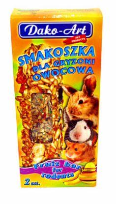 Obrázek Dako Tyčinka hlodavec ovocná 2ks-10296