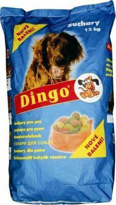 Obrázek DINGO suchary  13kg NEBAREVNÉ-3719