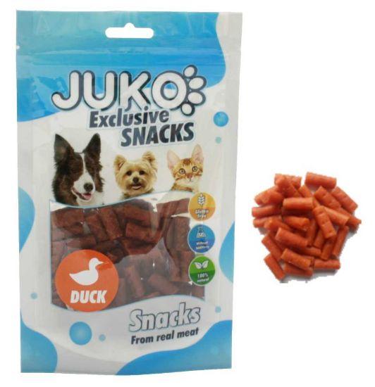 Obrázek z JUKO SNACKS Mini Duck stick glukosamin & chondro 70 g