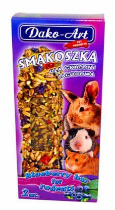 Obrázek Dako Tyčinka hlodavec borůvková 2ks-10294
