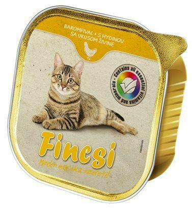 Obrázek Fincsi Cat vanička Poultry 100g-15385